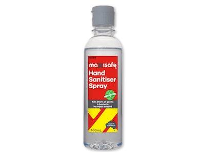 Alcohol Hand Sanitiser, Gel (500ml)