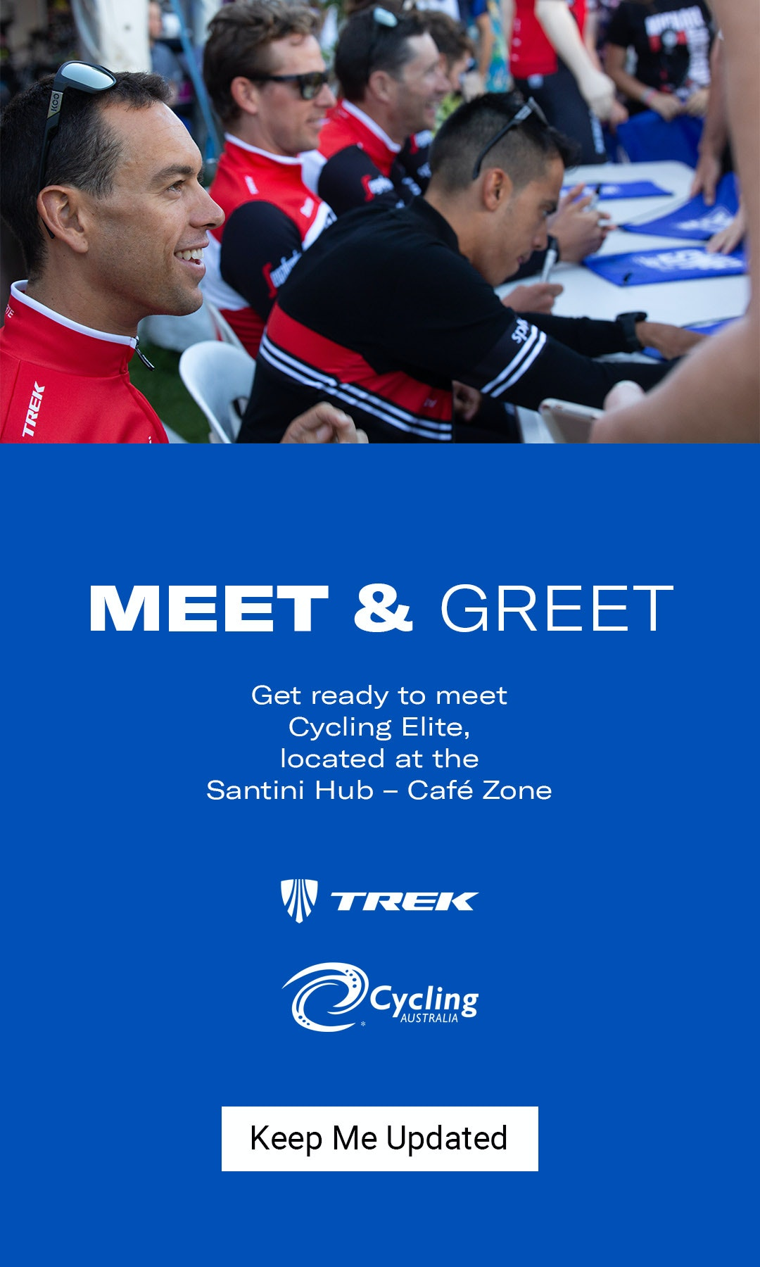 Meet & Greet Trek Segafredo