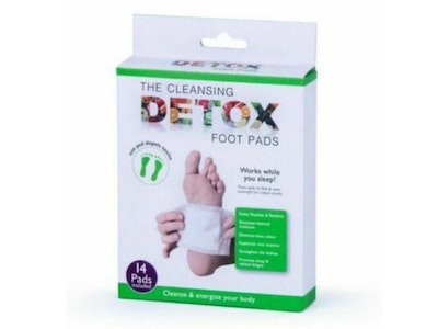 Boutique Medical The Cleansing Detox Foot Pads Health Care Natural Herbal - 14 Pads