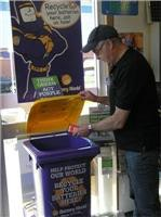 Think green and act purple at Battery World