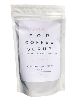 SOUL Self Care  Kellie & Abbie Fair-Trade Organic Exfoliating & Hydrating Coffee Scrub 2021