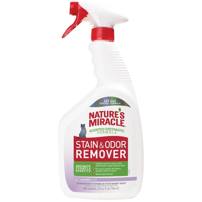 Natures Miracle Nature's Miracle Just for Cats Advanced Formula Stain & Odour Remover Sunny Lemon Scent 946ml