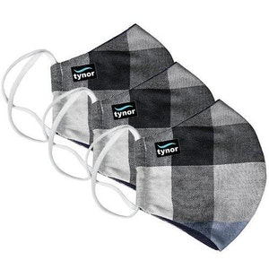 Mask Fabric Washable- CHECK (3 Pack)
