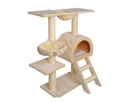 House of Pets Delight Multi Level Cat Scratching Pole