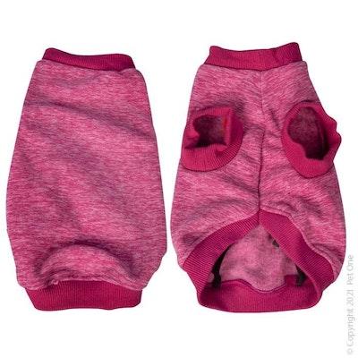 Pet One Dog Coat Night Comfy Fleece Dark Pink