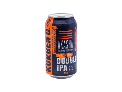 Akasha Brewing Company Korben Double IPA Can 375mL