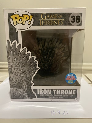 #38 Iron Throne New York Comic Con Limited Edition