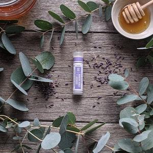 Manuka Honey · Lavender Lip Balm Tube [LB5]
