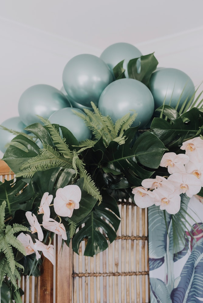 Tropical Valentine's Day Inspiration