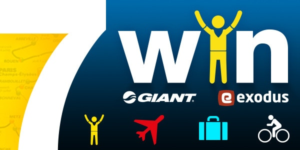 WIN The ULTIMATE Tour De France Experience with Giant, Exodus and BikeExchange!