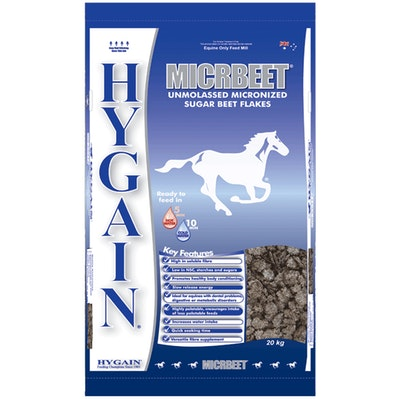 Hygain Micr Beet Flakes Horses Feed Supplement 20kg