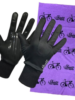 Shutt Velo Rapide Scarf and Gloves Bundle