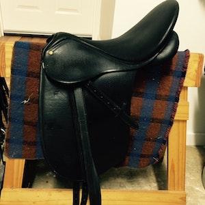 Bates Dressage Saddle - 17 inches