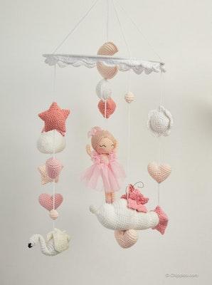Chippico Australia  Fairy Baby Nursery Mobile