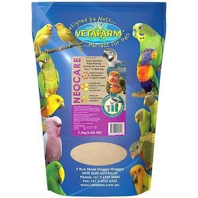 Vetafarm Neocare Hand Rearing Bird Food - 2 Sizes