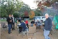 GSA RV camping crew Halls Gap  Lakeside