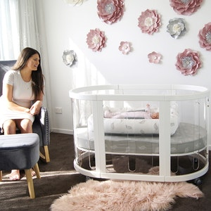 Babyhood Kaylula Sova Cot Clear