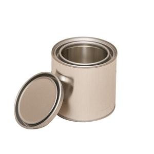250ml Metal Open Top Can & Lid