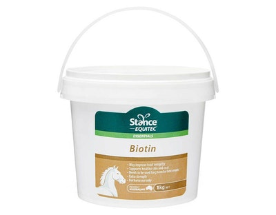 Stance Equitec Biotin Extra Strength Horse Hoof Skin & Coat Support - 2 Sizes