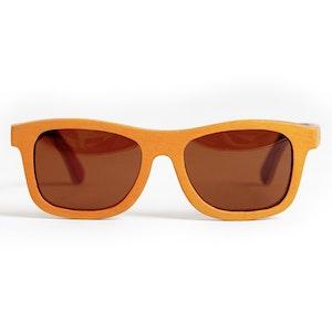 TicTasTogs Recycled skateboard Sunglasses | Sunburnt Orange