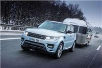 Range Rover Sport premium diesel Hybrid tows 2.5 tonne Airstream 4023km to the Arctic Circle