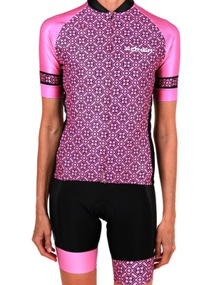 FOHER Women's Regalia Rosa Cycle Jersey