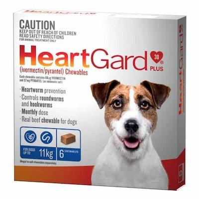 Heartgard Frontline Worming Treatment <11kg Dog