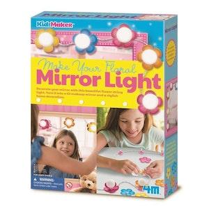 4M - KidzMaker - Make Your Own Floral Mirror Lights