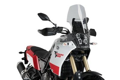 Puig Touring Screen To Suit Yamaha Tenere 700 Models (Smoke)
