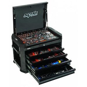 295 Pc METRIC/SAE Motorsport Concept Tool Kit BLACK SP52275