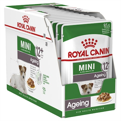 Royal Canin Dog Wet Pouch Mini Ageing 12+ 85g