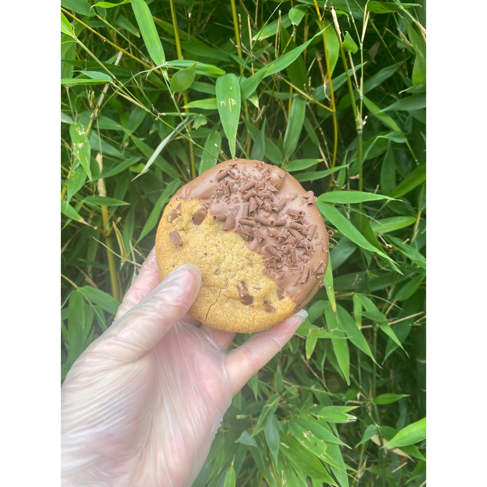 Lifetime of Chocolate cookie fudge sandwich