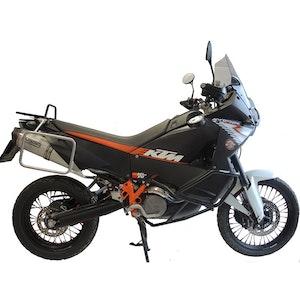 Crash Bars Engine Protectors - KTM LC8 990 Adventure 07-13 Upper/Lower Black