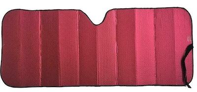 Premium Sun Shade [147cm x 68.5cm] - MATT RED