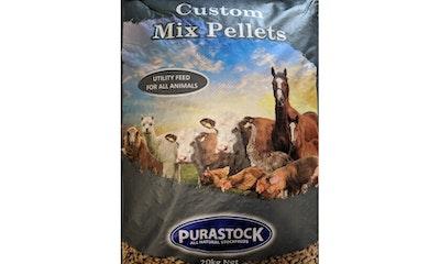 PURASTOCK Custom Animal Utility Feed Mix Pellets 20kg