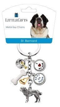 Little Gifts Keyrings - St Bernard