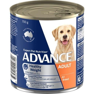 Advance Wet Dog Food Adult Healthy Weight 700g