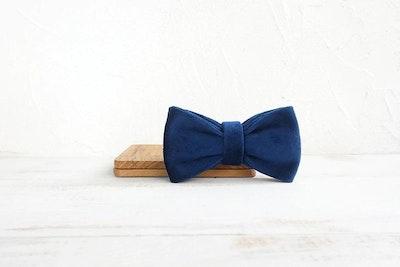 Barker & Bone Bow Tie | Dark Blue