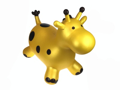 Kaper Kidz BOUNCY RIDER GOLD GIRAFFE