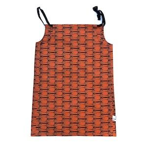 TreeKid FLORA DRESS - Orange Seeds