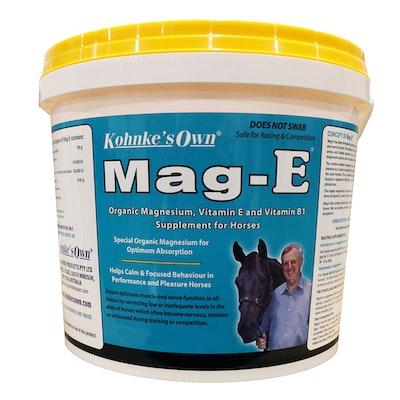 Kohnkes Own Mag-E Magnesium Vitamin E & B1 Horse Supplement - 3 Sizes