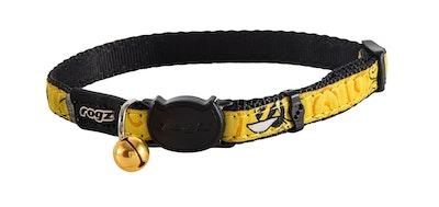 Rogz Fancycat Safeloc Collar Bumblebee 11mm