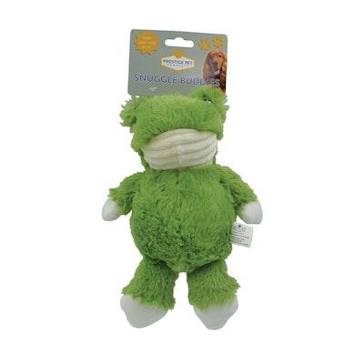 Prestige Pet Products Prestige Pet Snuggle Buddies Frog Plush Dog Squeaker Toy - 2 Sizes