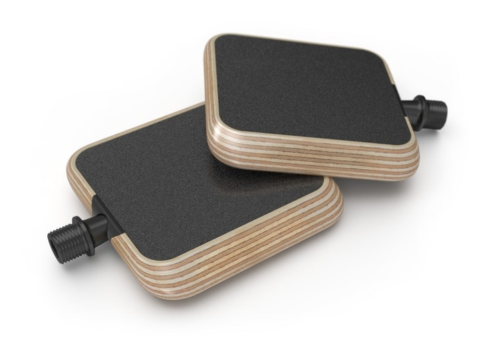 moto urban pedal wood pair