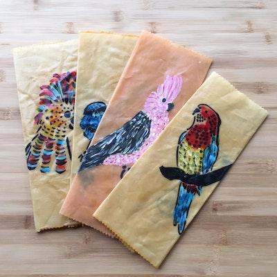 Dream Forest Studio Beeswax  Wraps Bird Pack