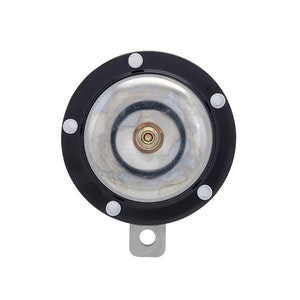 Black / Chrome 12V Motorcycle Horn