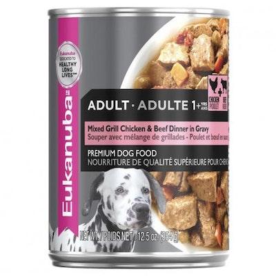 Eukanuba Adult Beef & Chicken Wet Dog Food 354G