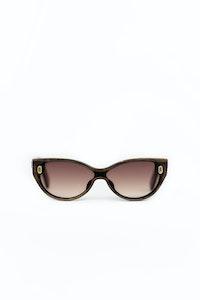 1 People Hampton Wooden Cat Eye Sunglasses