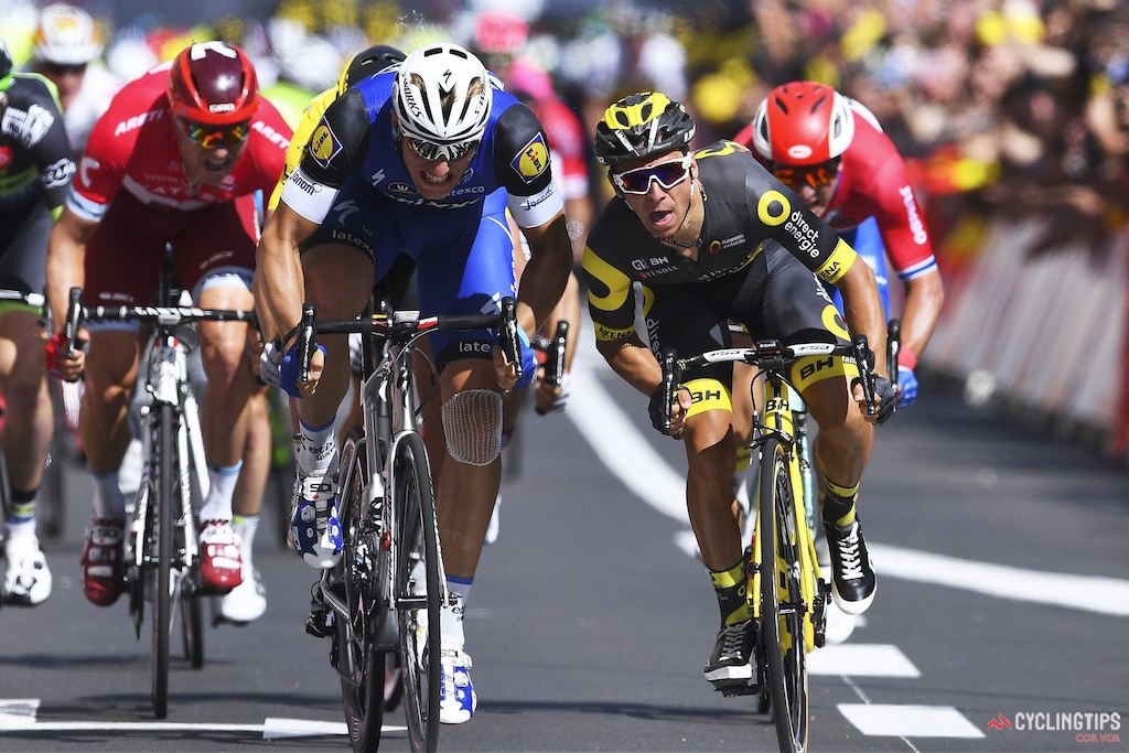 Kittel Takes Stage 4 Victory By a Hair, Sagan Increases GC Lead