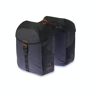 Basil Miles Double Bag 34L Black Slate